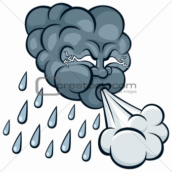 340x340 Wind And Rain Clipart