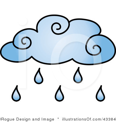 400x420 Rain Clip Art Royalty Free Rain Clipart Illustration
