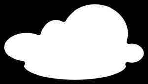300x171 Gray Clipart Black Cloud
