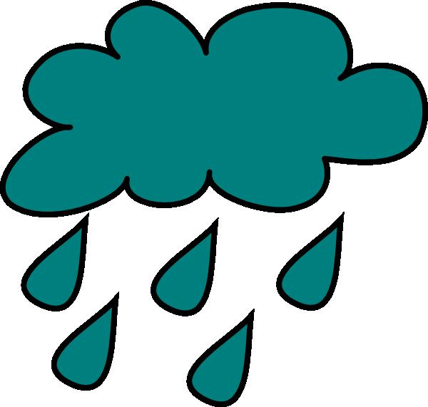 600x571 Cartoon Clouds And Rain Clipart 2