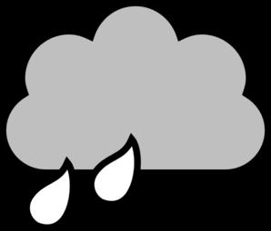 298x255 Rain Clipart Cloudy