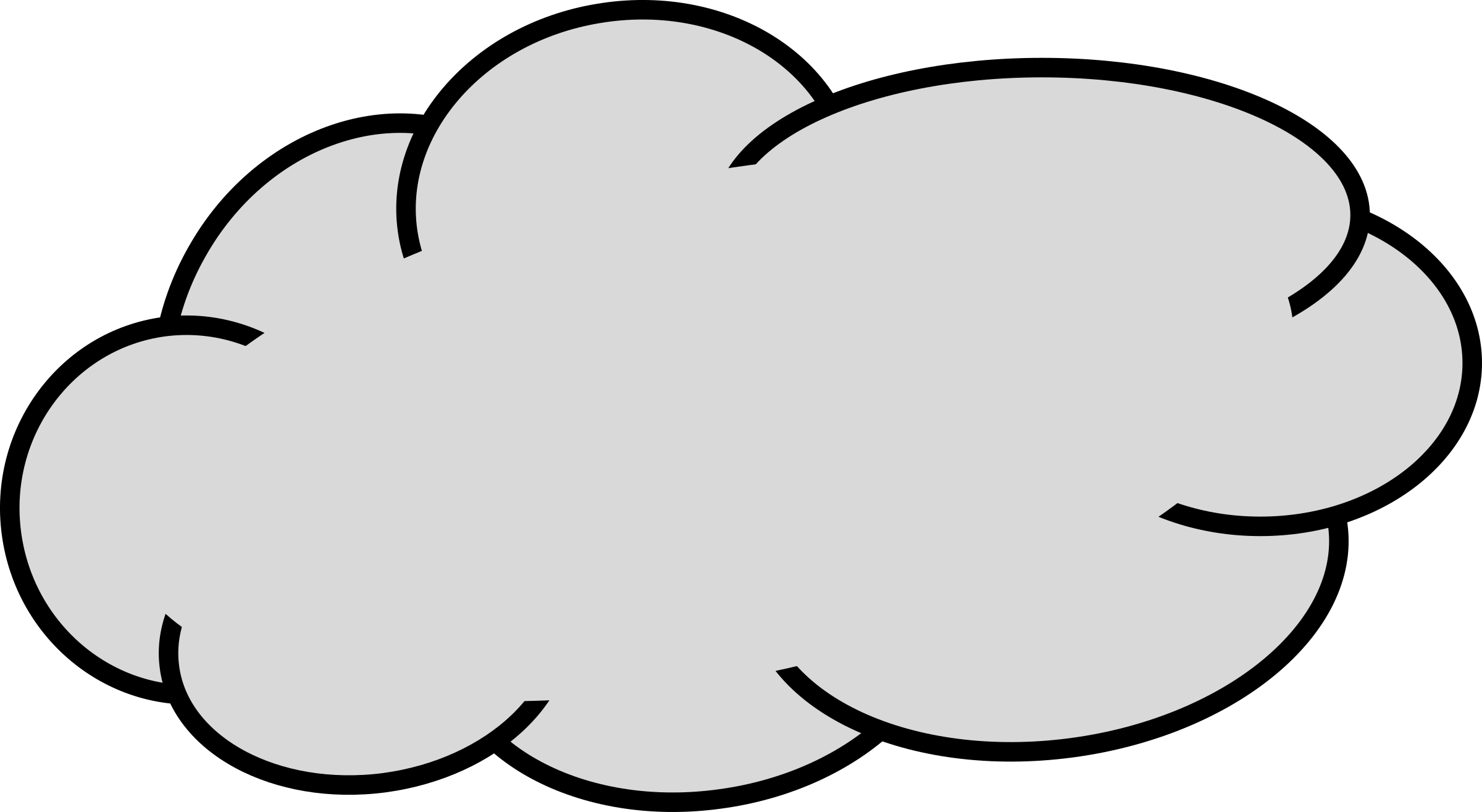 2400x1315 Rain Clipart Grey Cloud
