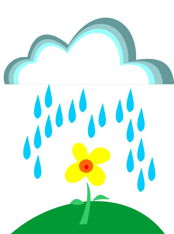 Rainy Clouds Clipart