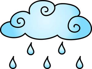 300x225 Chance Of Rain Clipart