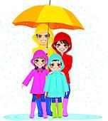 152x170 Rainy Day Clip Art