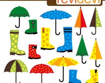 340x270 Umbrella Clip Art Etsy