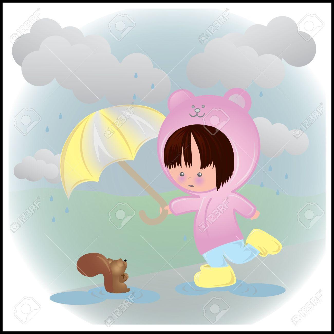 1300x1300 Rain Clipart Cloudy Day
