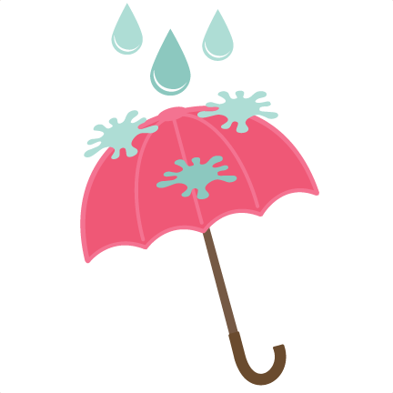 432x432 Rainy Day Umbrella Svg File For Scrapbooking Cardmaking Free Svg