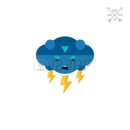 450x450 Thunder Clipart Rainy Day