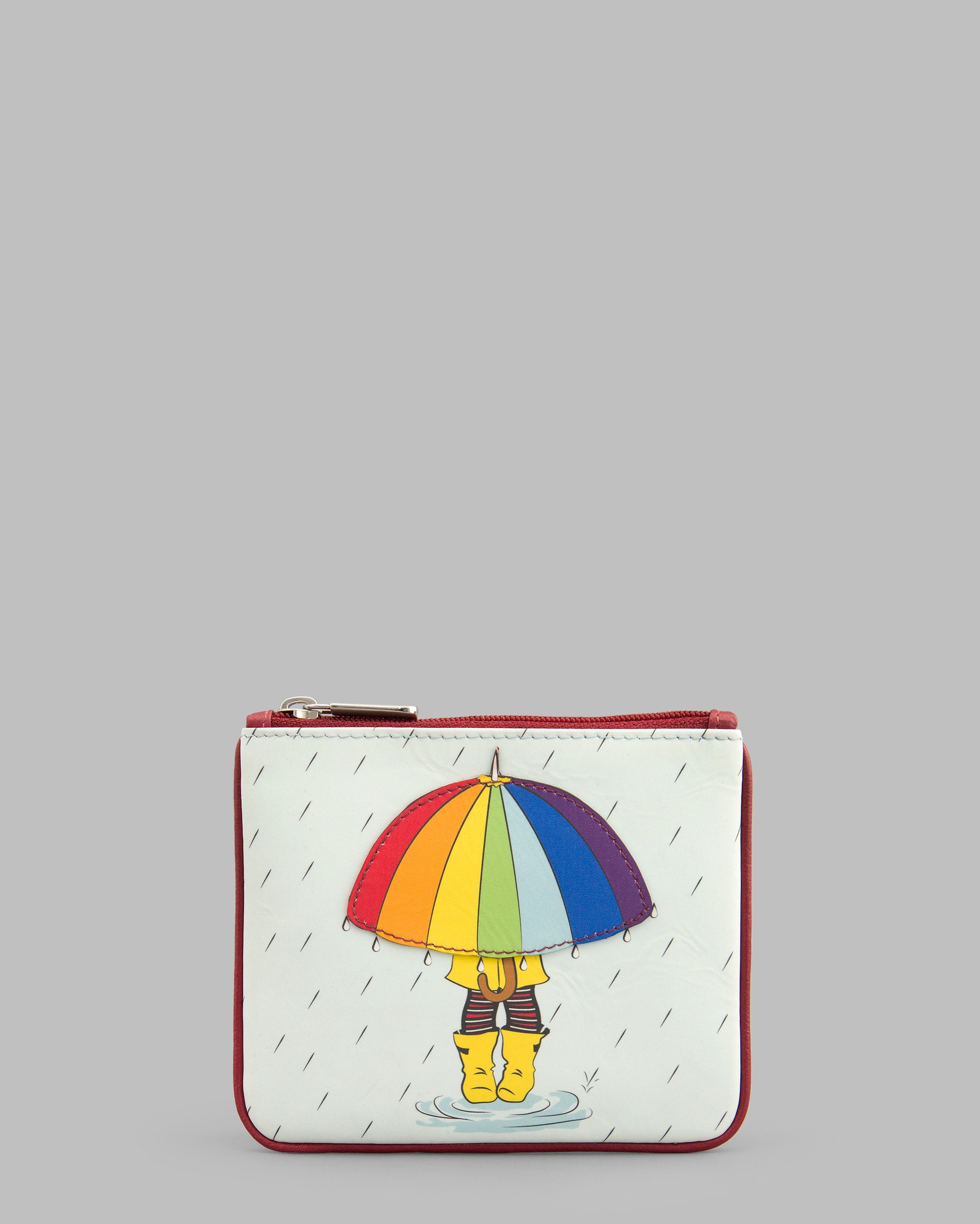 2000x2500 Y By Yoshi Leather Zip Top Rainy Day Coin Purse