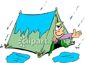 300x222 Day For Camping Royalty Free Clipart Picture