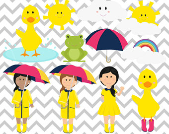 340x270 Spring Frog Clipart Duck Clipart Frog Clipart Rain Clipart