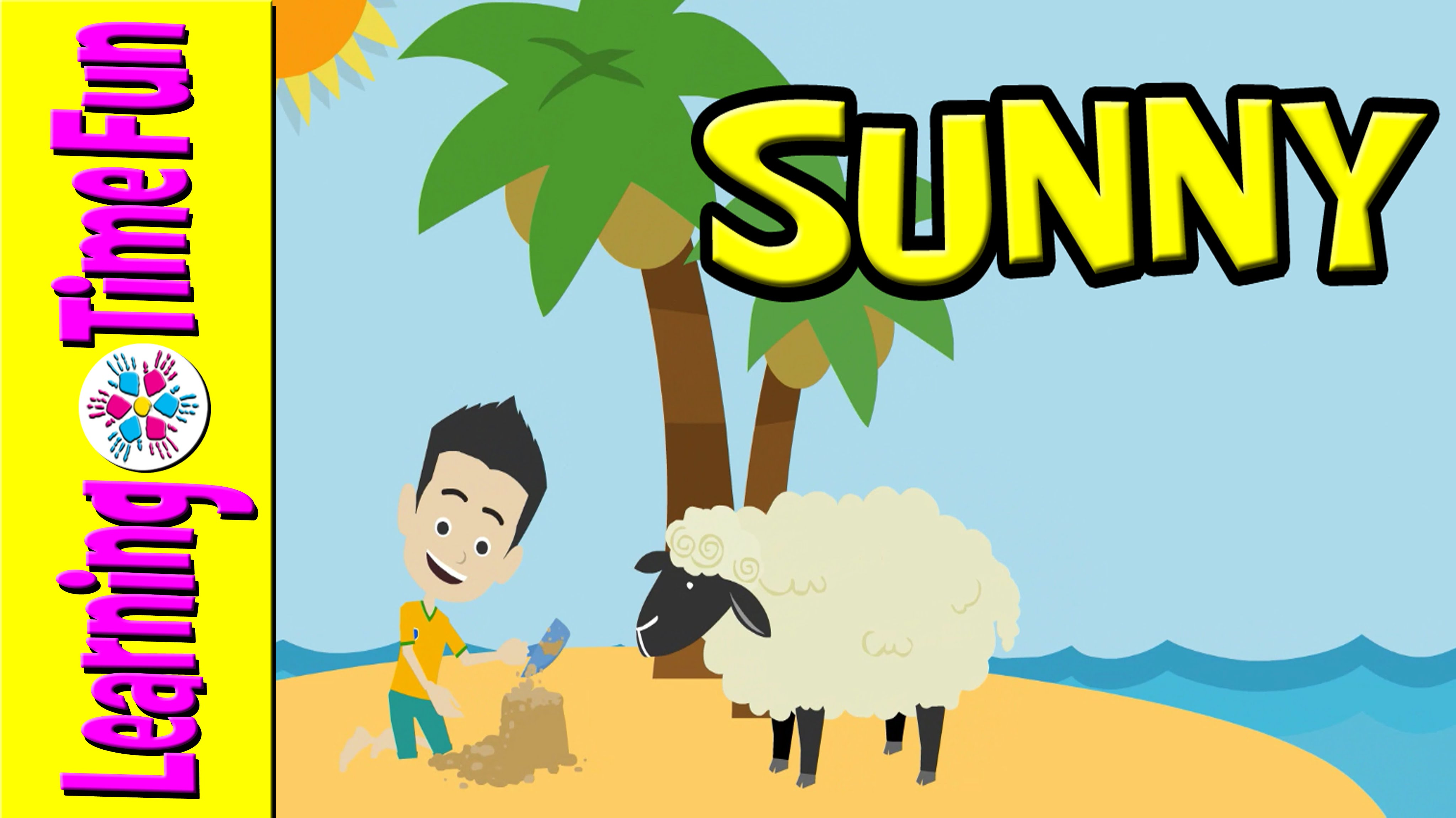 4096x2301 Weather For Children With Sid And His Sheep Preschool Learning