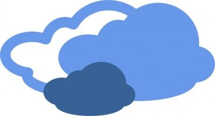 425x231 Rain Clouds Clipart
