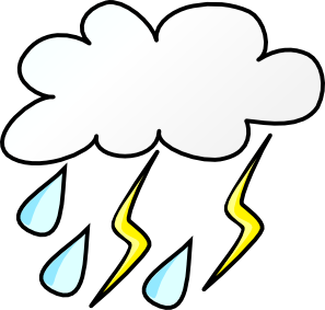 297x283 Rainy Weather Clipart