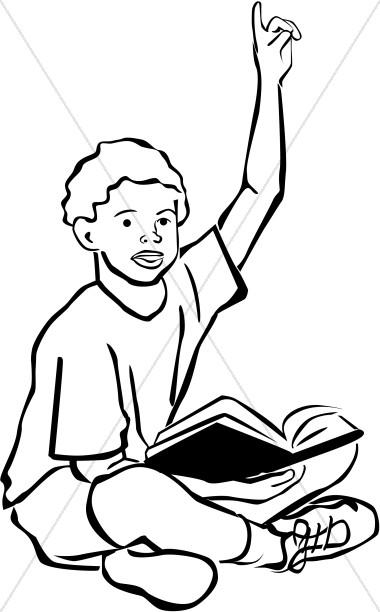 Raise Hand Clipart