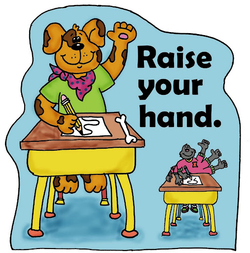 Raise Your Hand Clipart   Free download on ClipArtMag