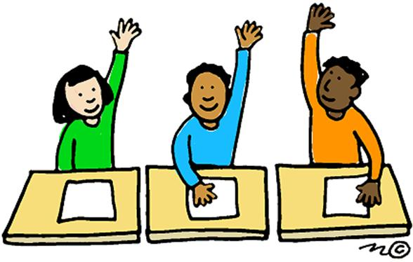 588x374 Student Raising Hand Clip Art
