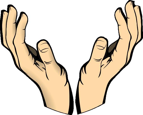 600x486 Raised Hands Clip Art