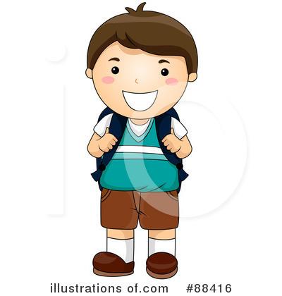 400x420 Boy Clipart School Student