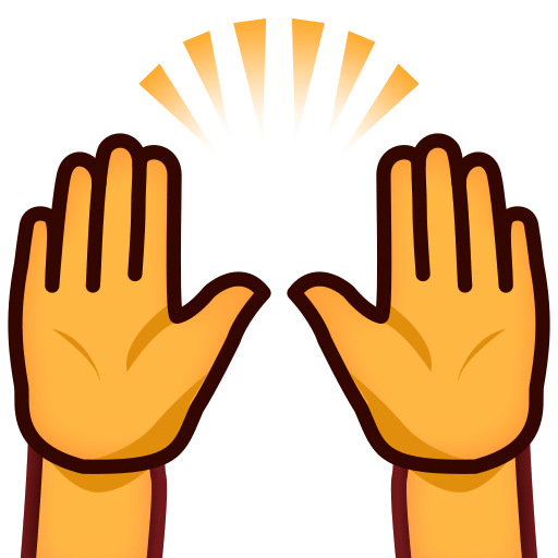 512x512 Person With Folded Hands Emoji For Facebook, Email Amp Sms Id