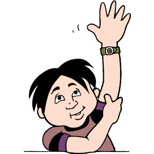 300x300 Raise Hand Clipart