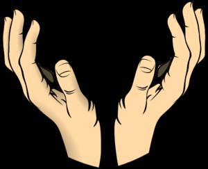 300x243 Raised Hands Clip Art