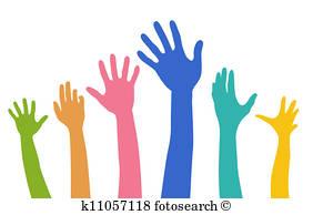 282x194 Raising Hand Clip Art Illustrations. 8,390 Raising Hand Clipart