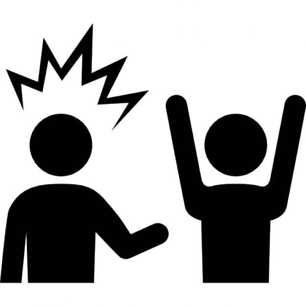 626x626 Thief Robbing A Man Raising Hands Icons Free Download