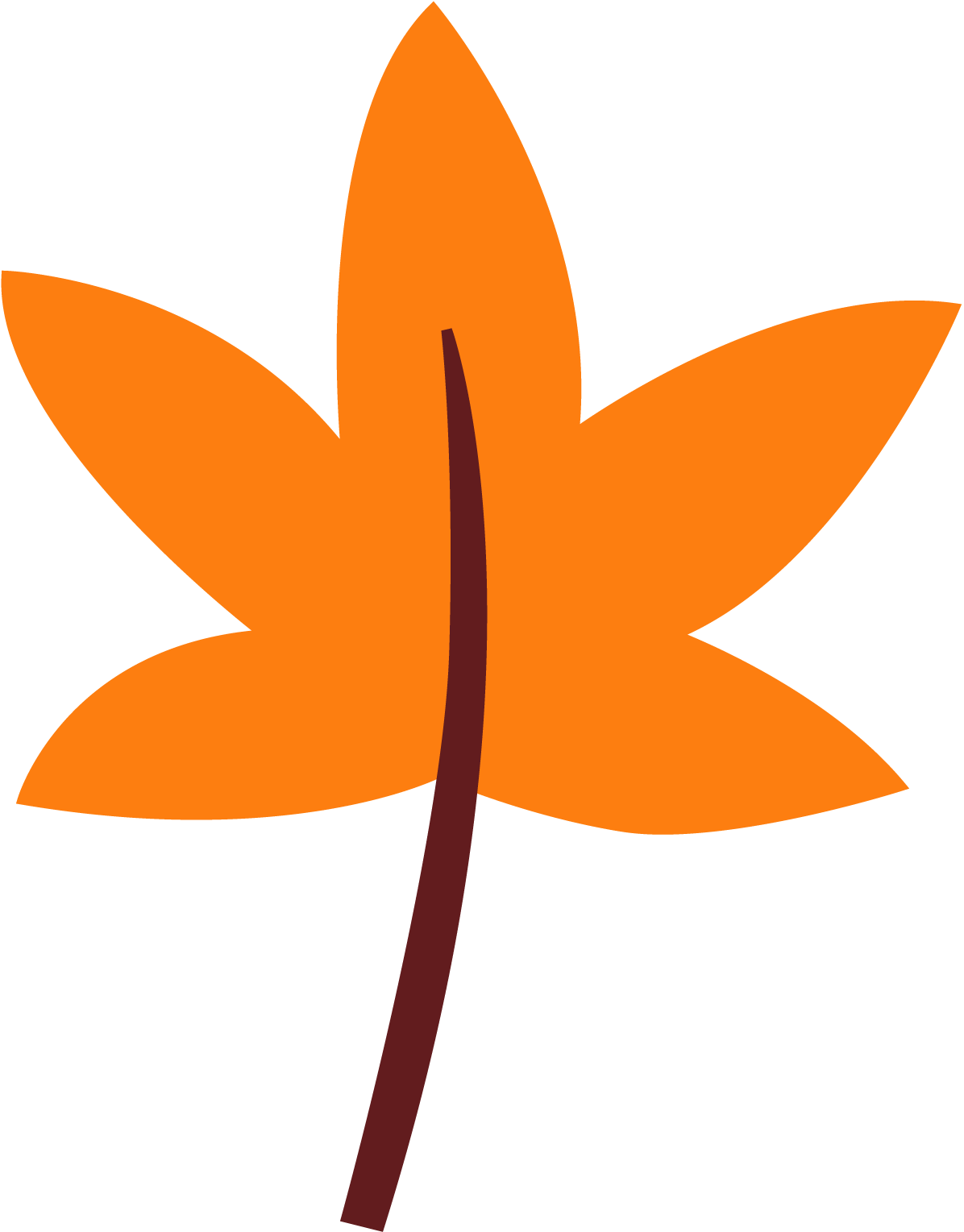 1196x1529 Fall Leave Clipart