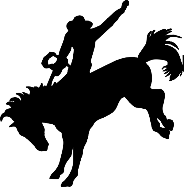600x612 Ranch Rodeo Clipart