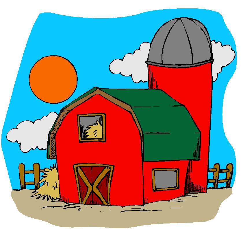 841x791 Ranch Clipart Agriculture Farming