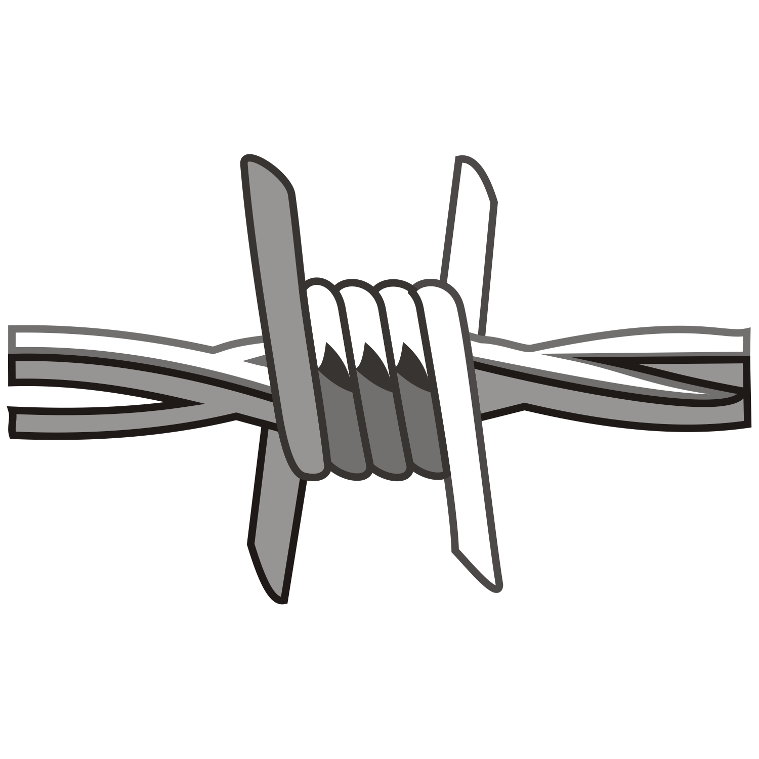 1500x1500 Barbed Wire Clipart Ranch Fence