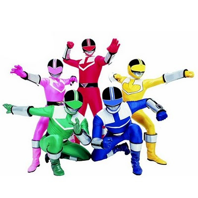 400x400 Power Rangers Clipart
