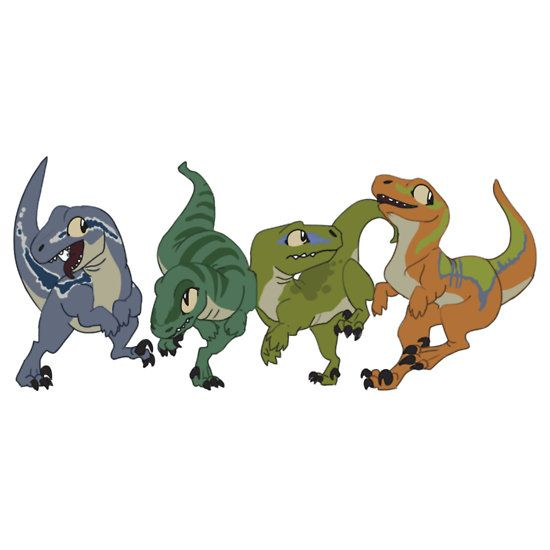 550x550 Velociraptor Clipart Jurassic Park