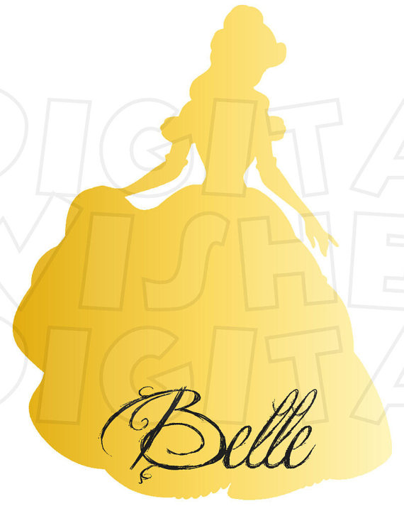 570x713 Rapunzel From Tangled Silhouette Digital Iron On Transfer Clip