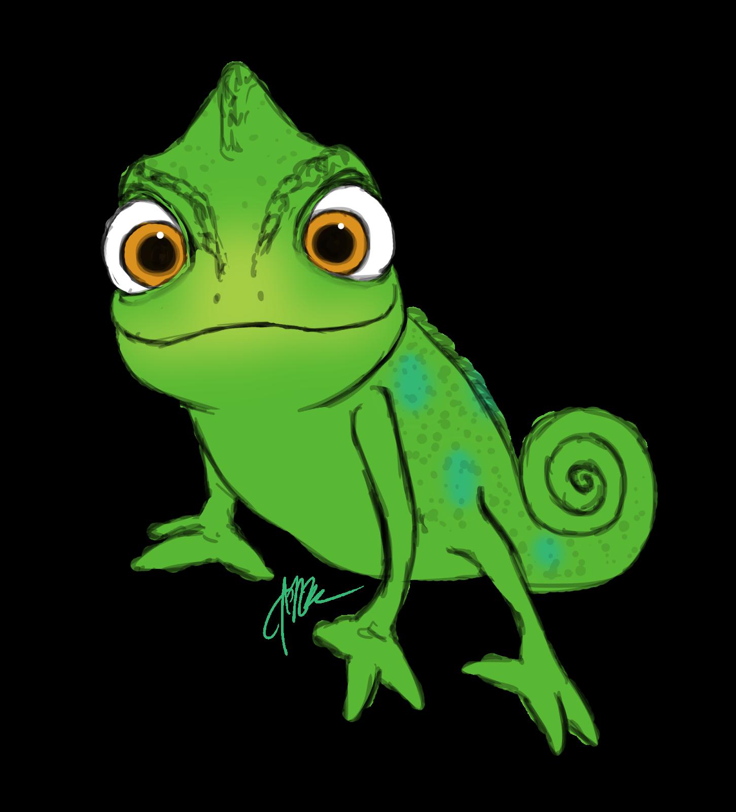 1451x1600 Drawn Cameleon Tangled Lizard
