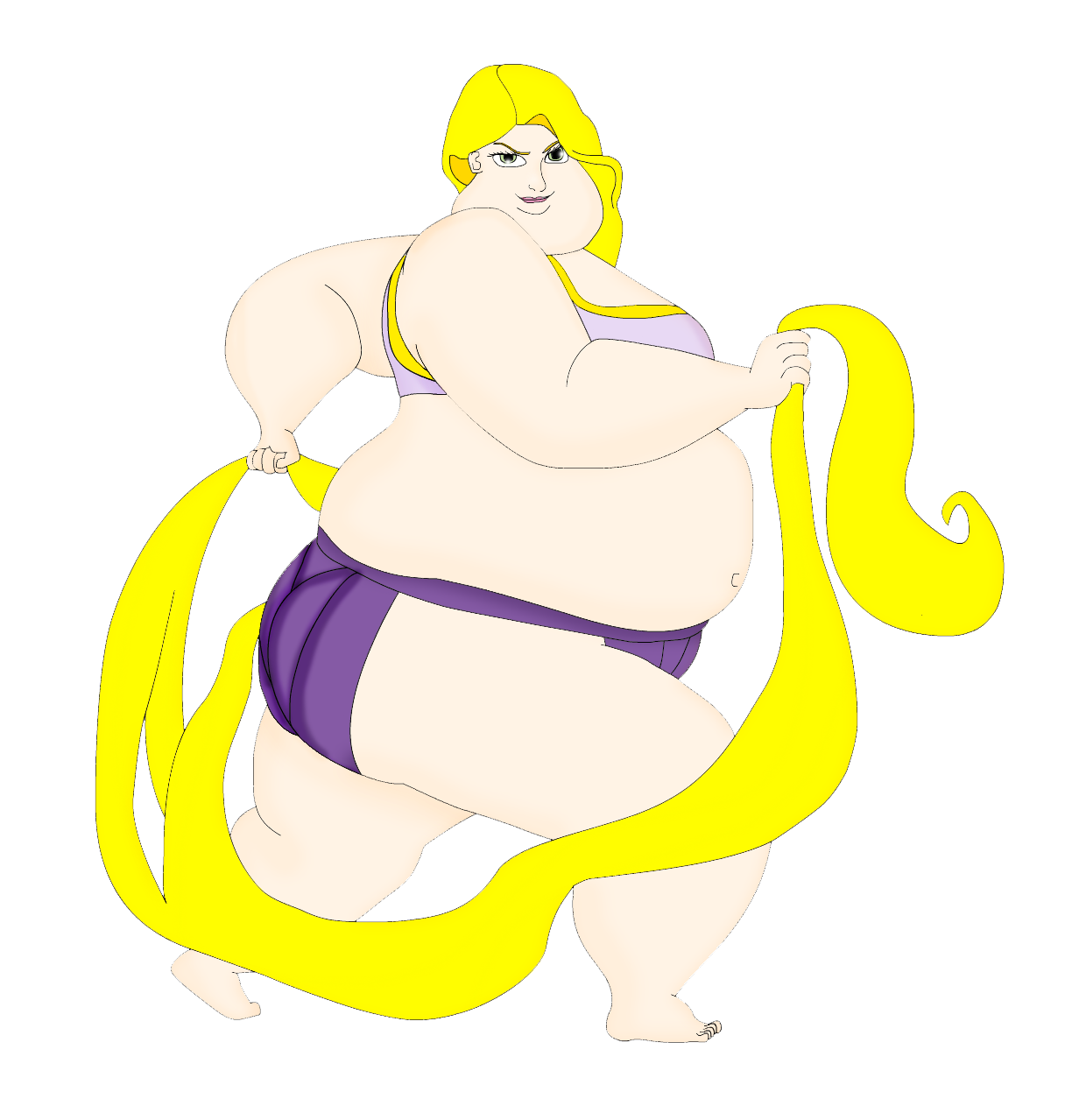 1224x1279 Sumo Rapunzel By Artist Srf