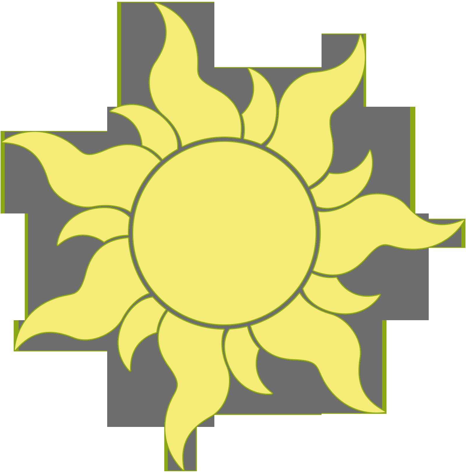 1600x1622 Sun Tangled Clipart