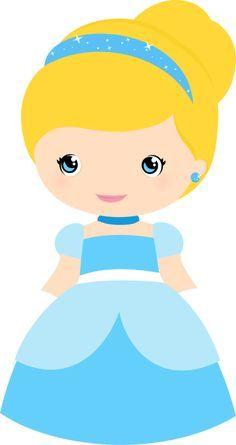 236x445 Princesas Disney Cutes