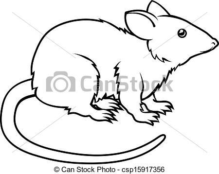 450x358 Rat Clip Art