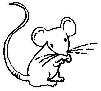 325x294 Rodent Clipart Black And White