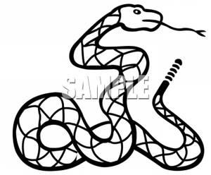300x248 Rattlesnake Clipart