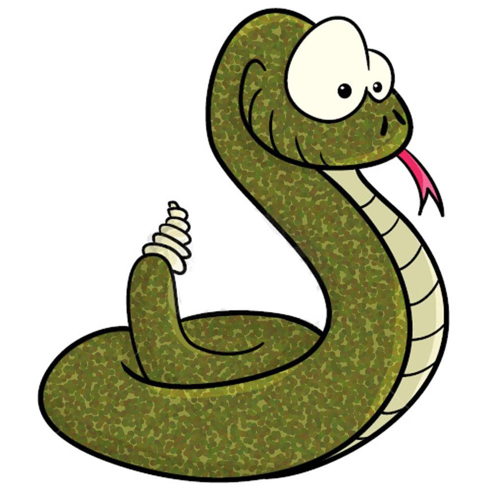 1000x1000 Rattlesnake Clipart Small Snake