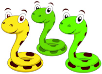 210x153 Snake Clip Art Black And White Free Clipart Images 3