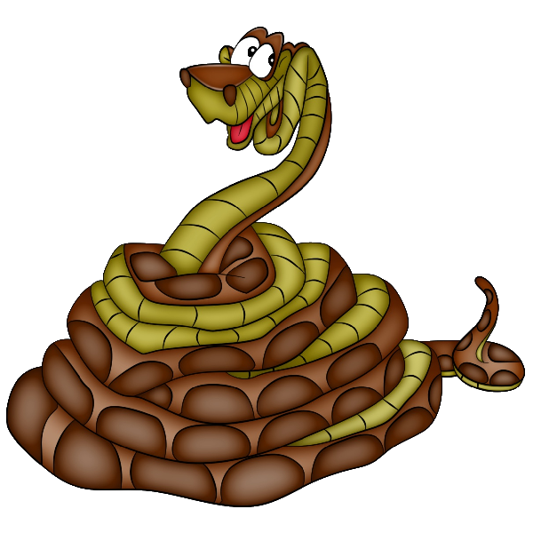 600x600 Cartoon Snakes Clip Art Page 2