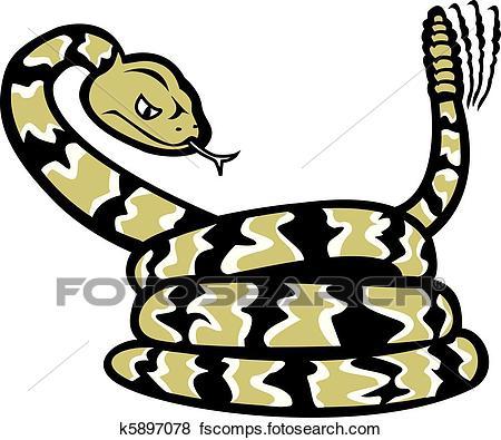 450x395 Rattlesnake Clipart Royalty Free. 582 Rattlesnake Clip Art Vector