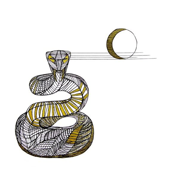 570x570 Snake Line Drawing Art By Thailan When By Thailan Artfull