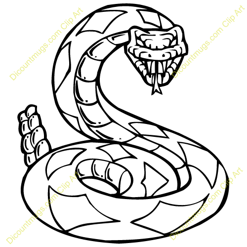 500x500 Snake Clipart Easy Draw