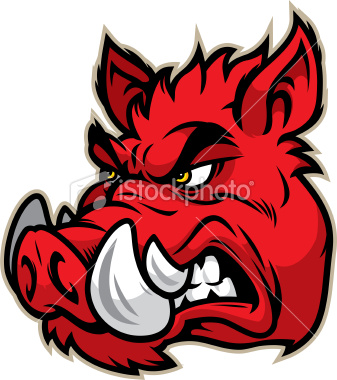 337x380 This Aggressive Razorback Is Great For Any School Or Sport Based